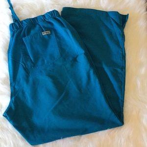 Grey's Anatomy Aqua Blue Scrub Pants
